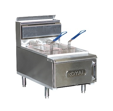 Royal Range Rcf 25 Countertop Fryer