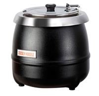 Atosa AT51588 10 liter Electric Soup Kettle with Insert and lid
