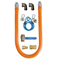"3/4"" x 48"" Gas Hose Connection Kit"
