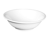 "Melamine White 11"" Bowl"