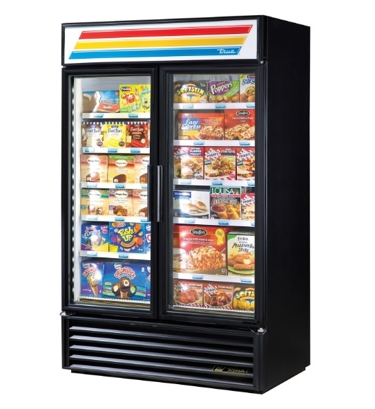 Double Glass Door Merchandiser Freezer