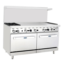 "Two Burner 48"" Griddle Range"